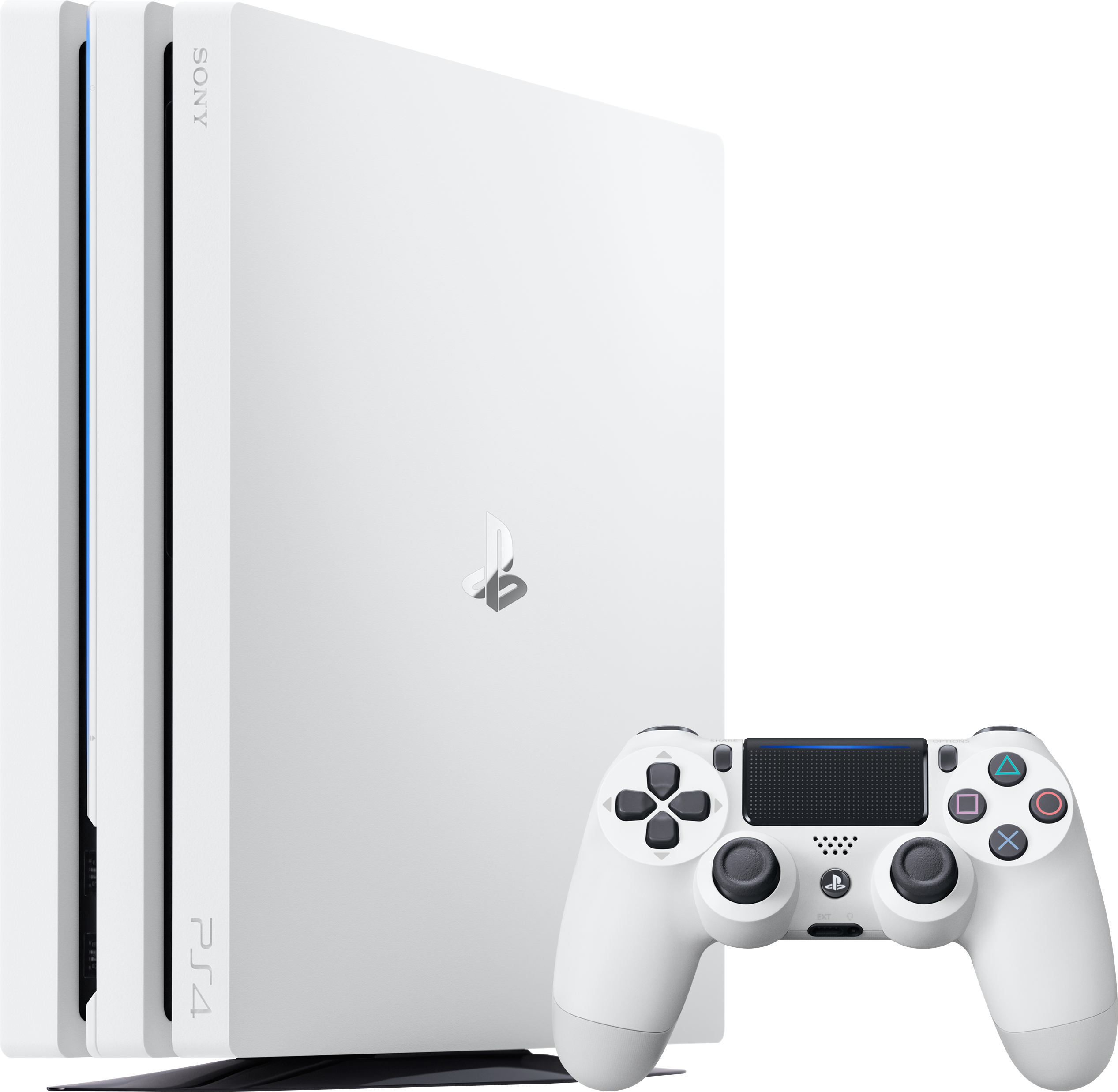 PlayStation 4 Pro (2TB, Glacier White)
