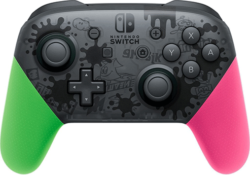 Switch Pro Controller (Splatoon 2 Edition)