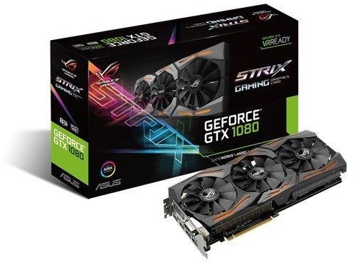 GeForce GTX 1080 1670MHz 8GB 10010Mhz 256bit