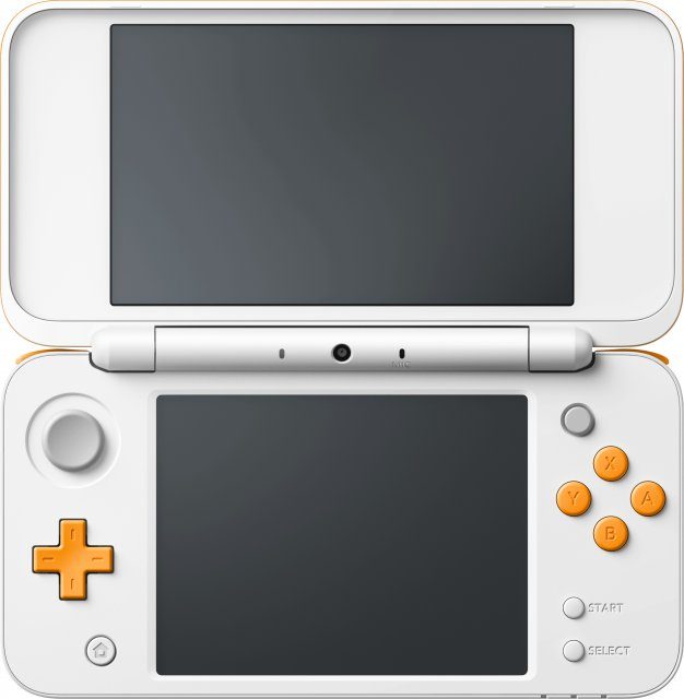 New 2DS XL (White & Orange)