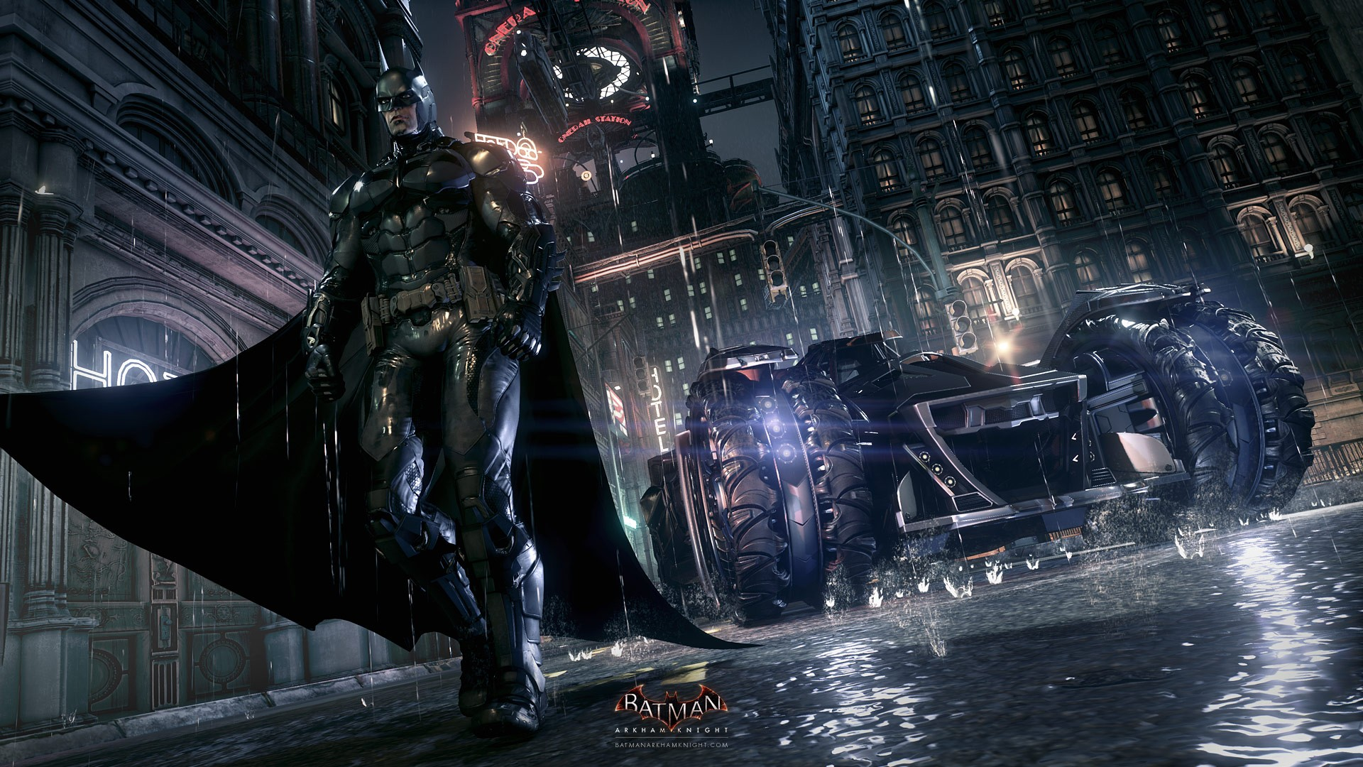 Batman: Arkham Knight (Рыцарь Аркхема)
