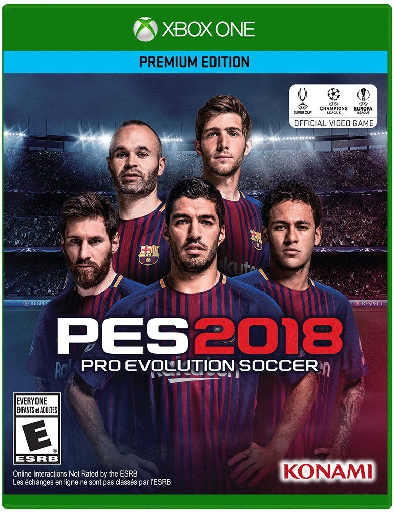 Pro Evolution Soccer 2018 (PES 2018) – Premium Edition