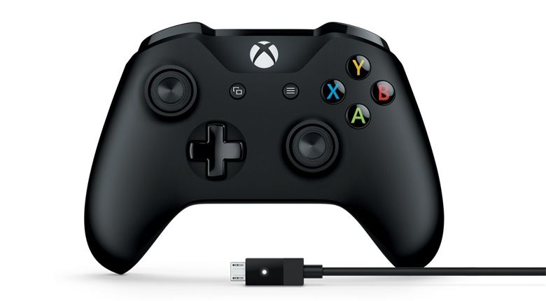 Xbox One Wireless Controller v3 (Black) + Cable for Windows