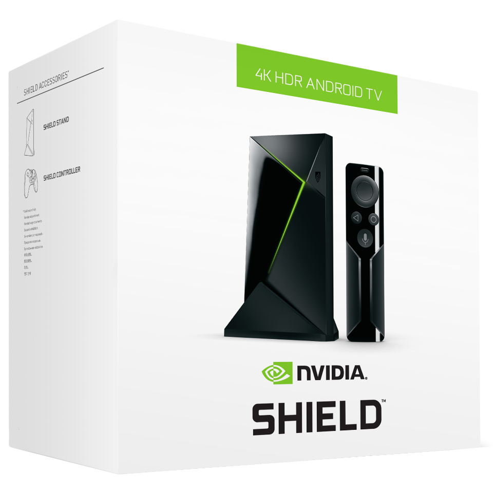 Shield (16GB, 4K HDR, Android TV, 2017)
