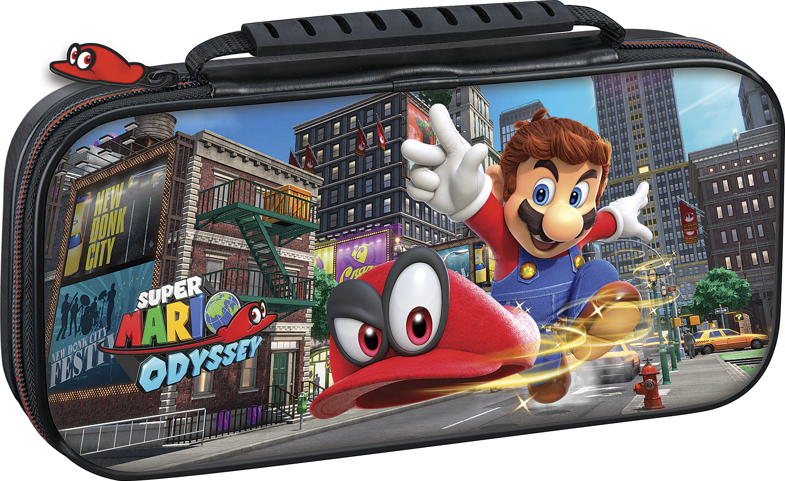 Deluxe Travel Case (Super Mario Odyssey Edition)