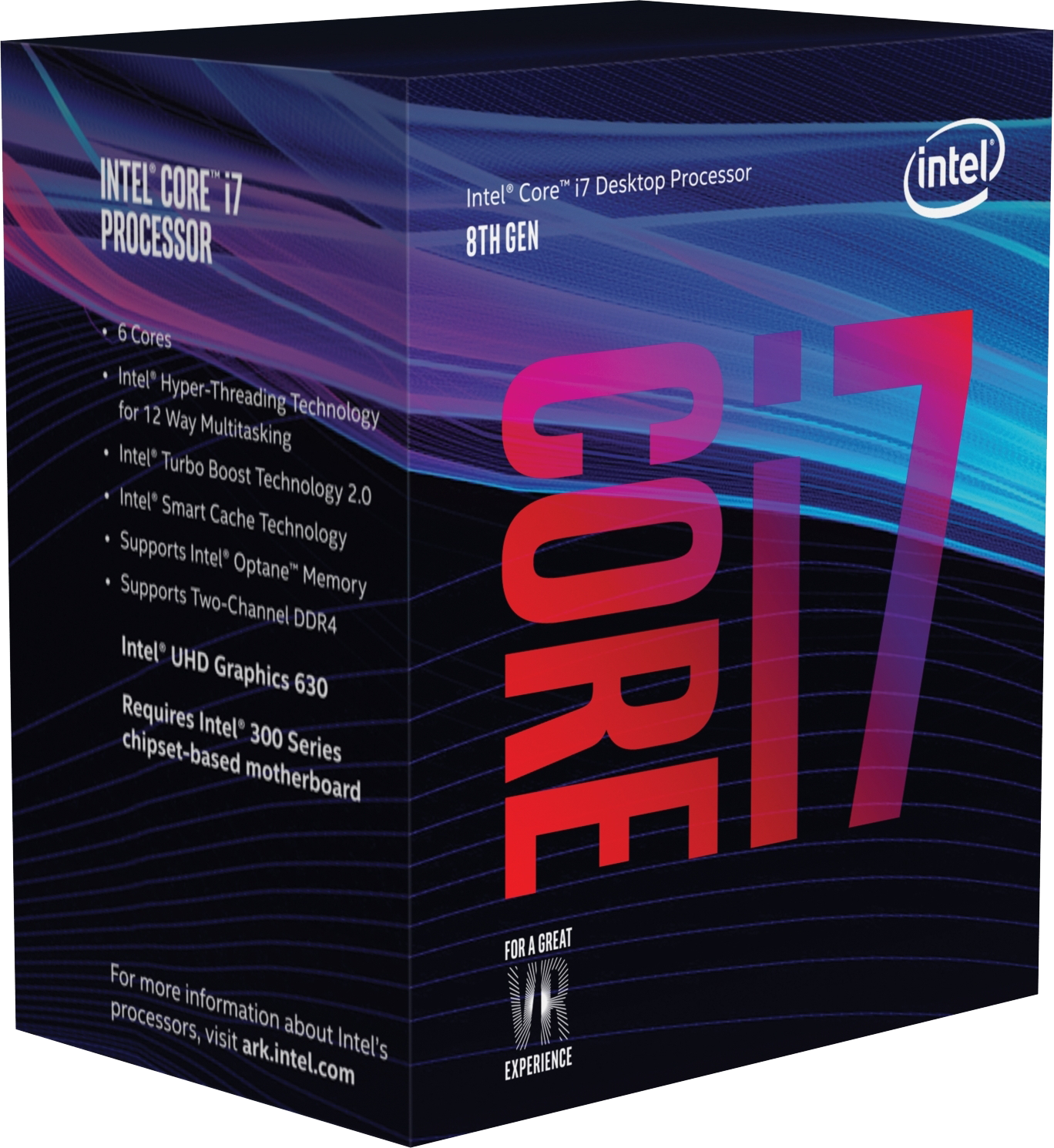 Core i7-8700 Coffee Lake (3,2GHz, LGA1151, L3 12288Kb, BOX) + Cooler