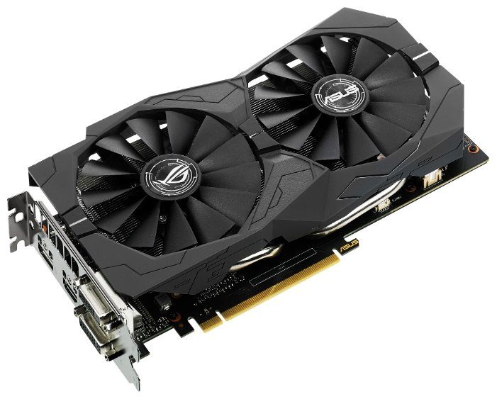 GeForce GTX 1050 Ti 1379Mhz 4GB 7008Mhz 128bit Strix OC Gaming
