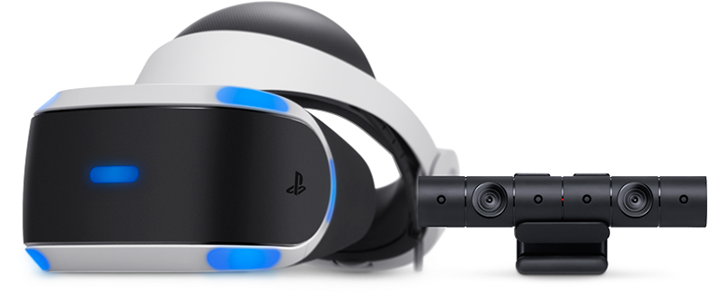 PlayStation VR v2 (2019) + PS Camera + VR Worlds