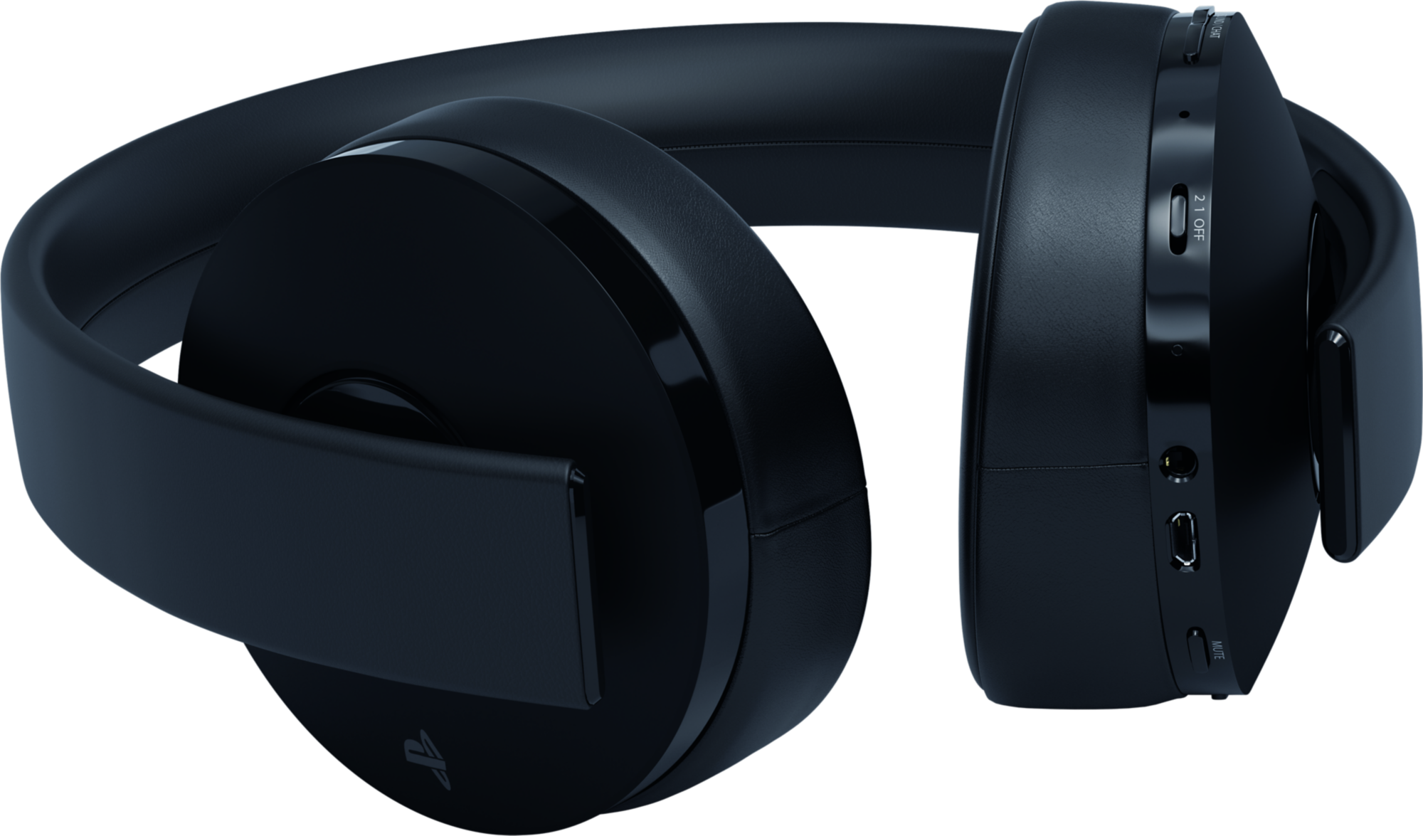 Gold Wireless Stereo Headset v2 (Black)