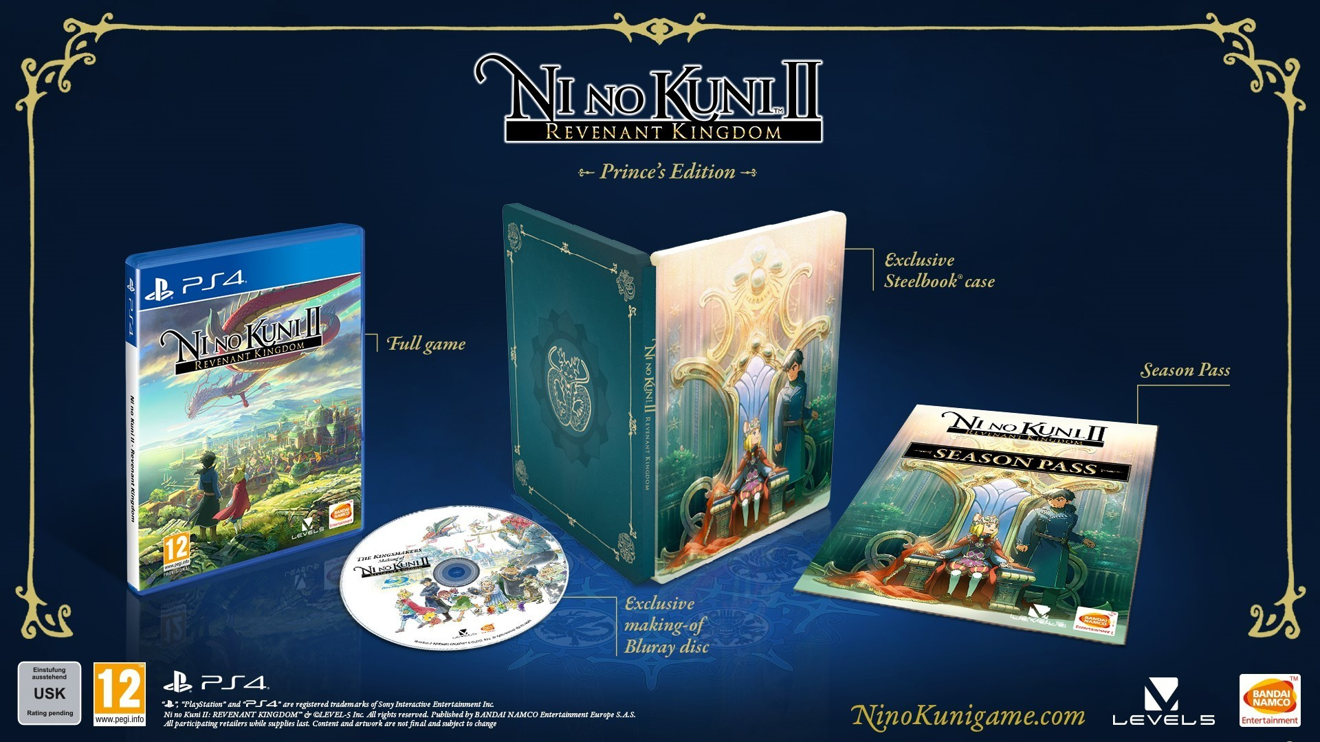 Ni No Kuni II: Revenant Kingdom – Collector's Edition / Prince's Edition