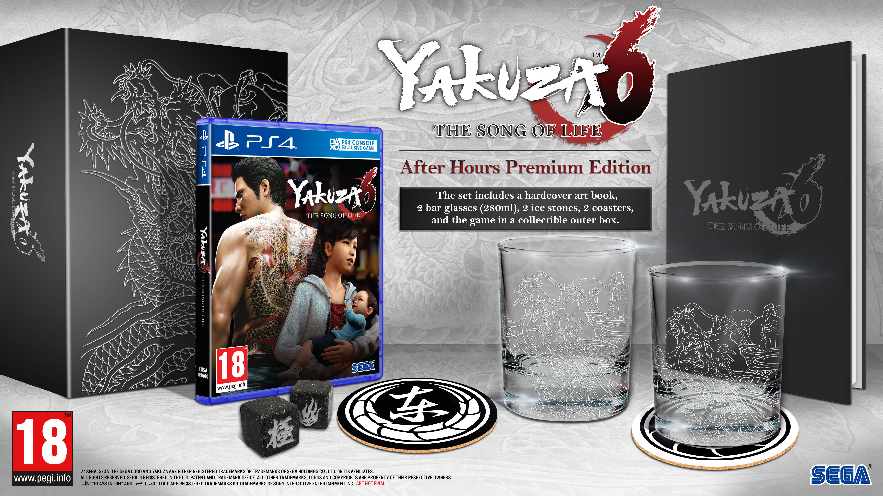 Yakuza 6: The Song of Life – Collector's Edition / After Hours Premium Edition
