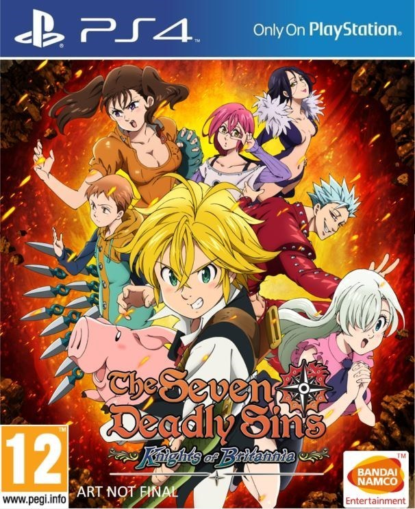 The Seven Deadly Sins – Knights of Britannia