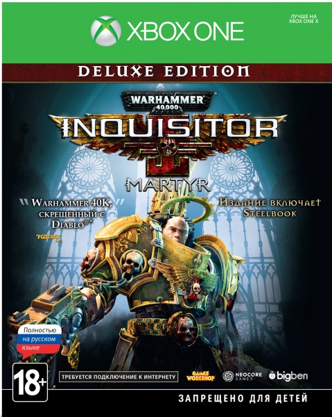 Warhammer 40,000: Inquisitor Martyr – Deluxe Edition