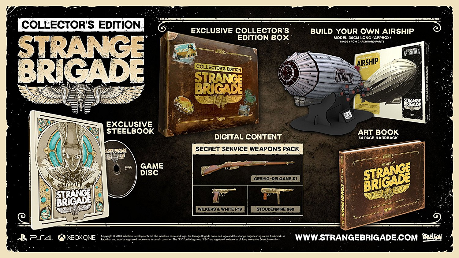 Strange Brigade – Collector's Edition