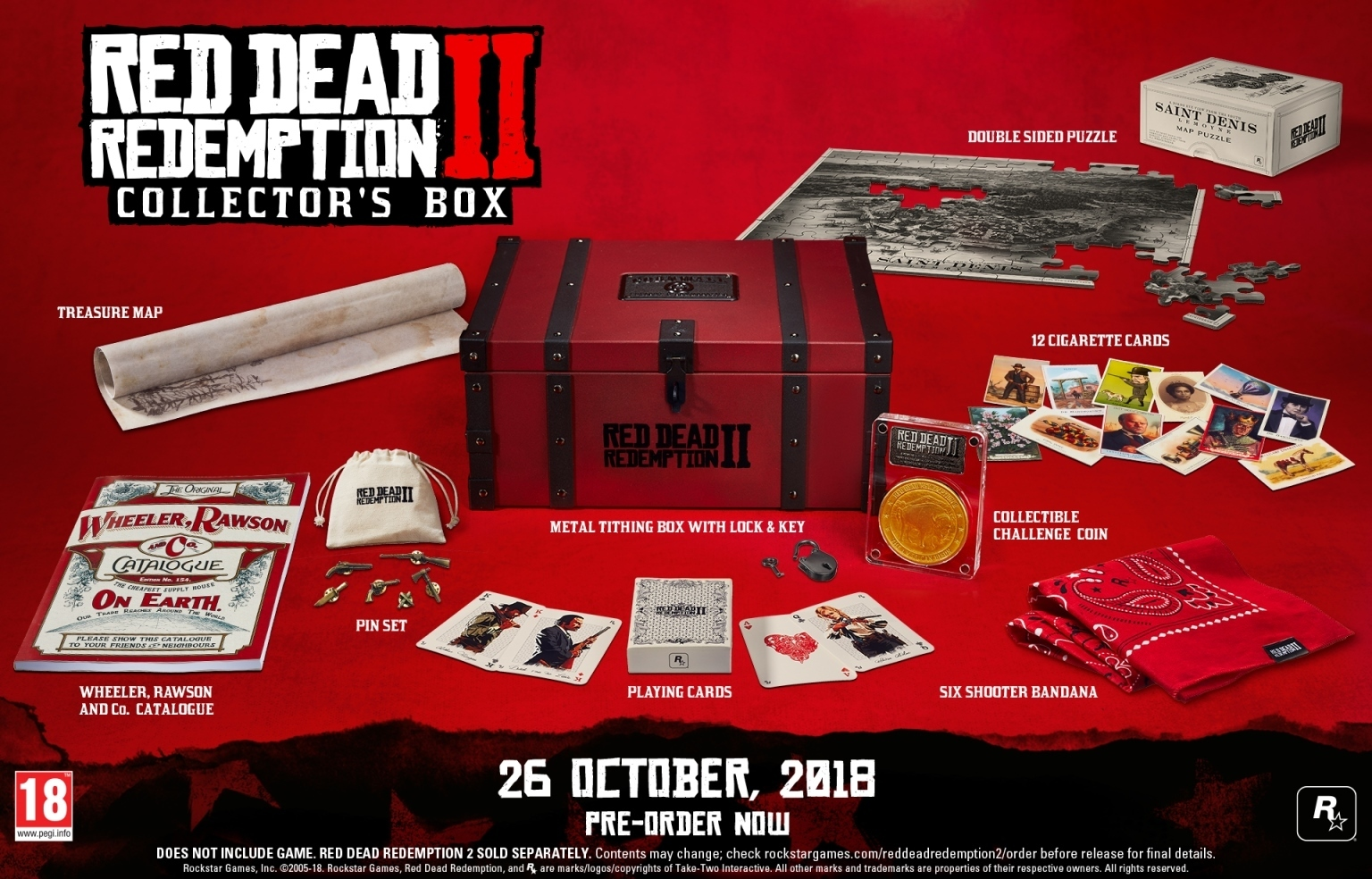 Red Dead Redemption 2 – Collector's Edition / Collector's Box (Без игры)