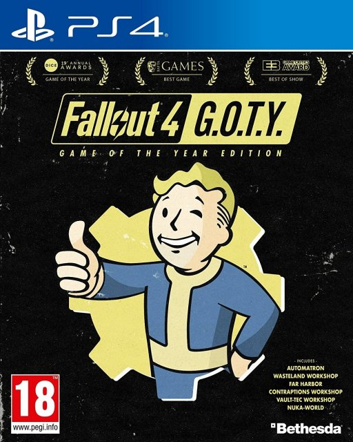 Fallout 4 – GOTY (Game of the Year Edition)