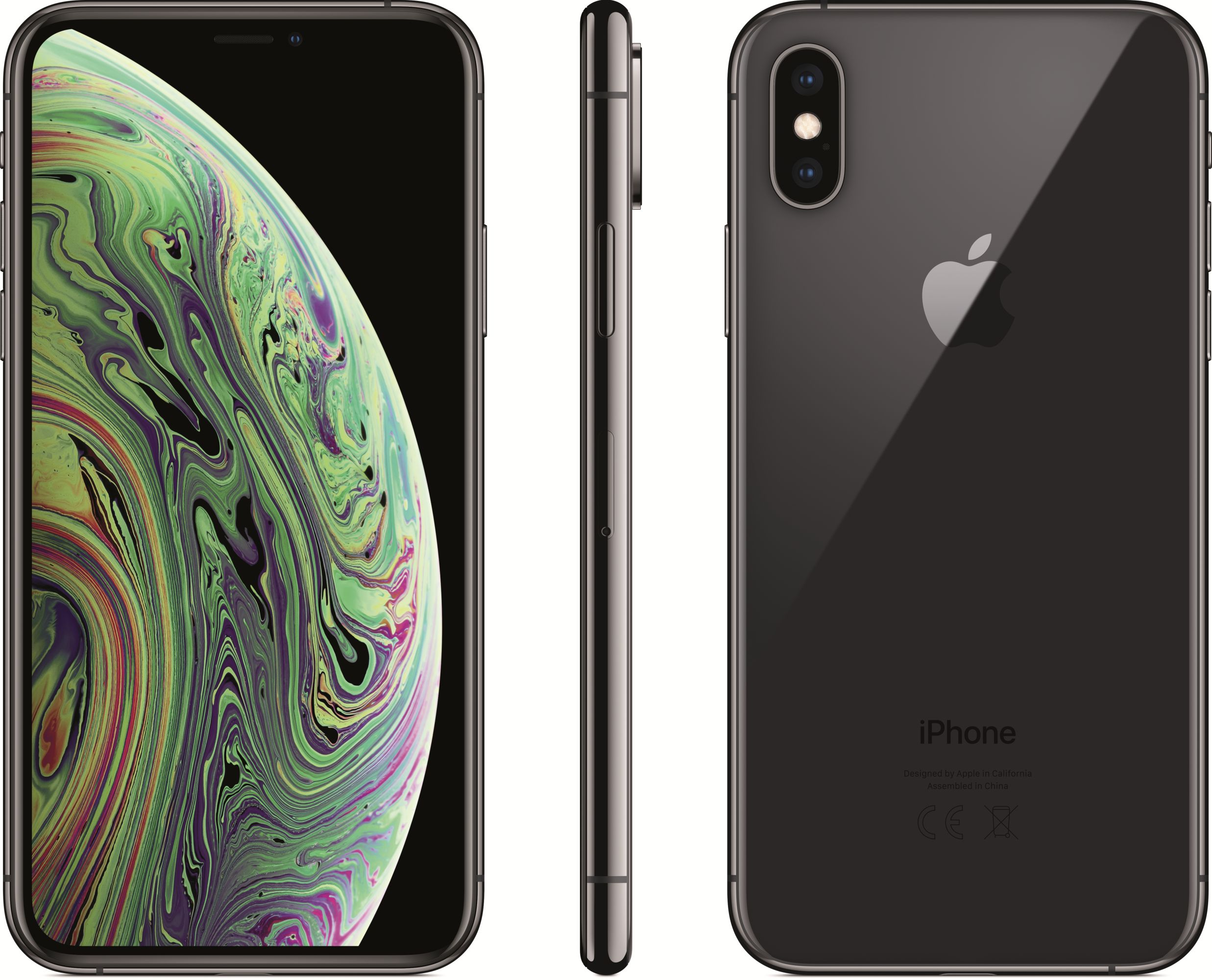 iPhone Xs (64GB, Space Gray)
