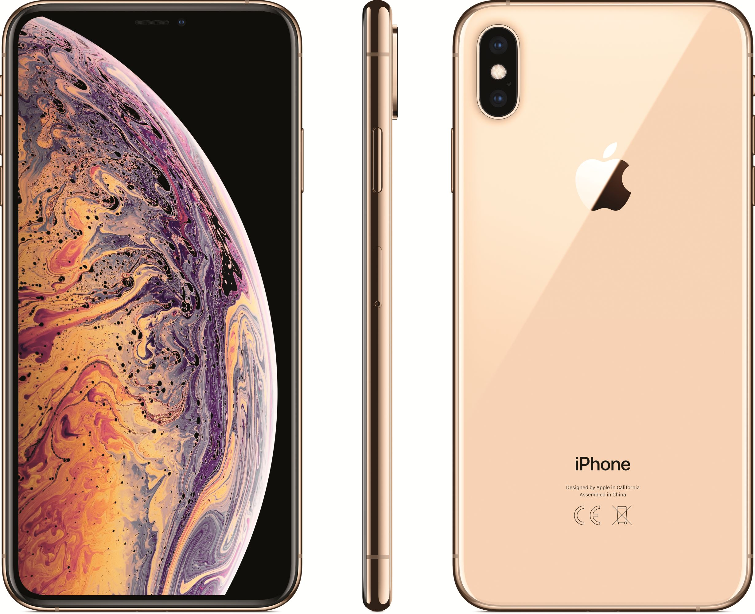 iPhone Xs Max (64GB, Gold)