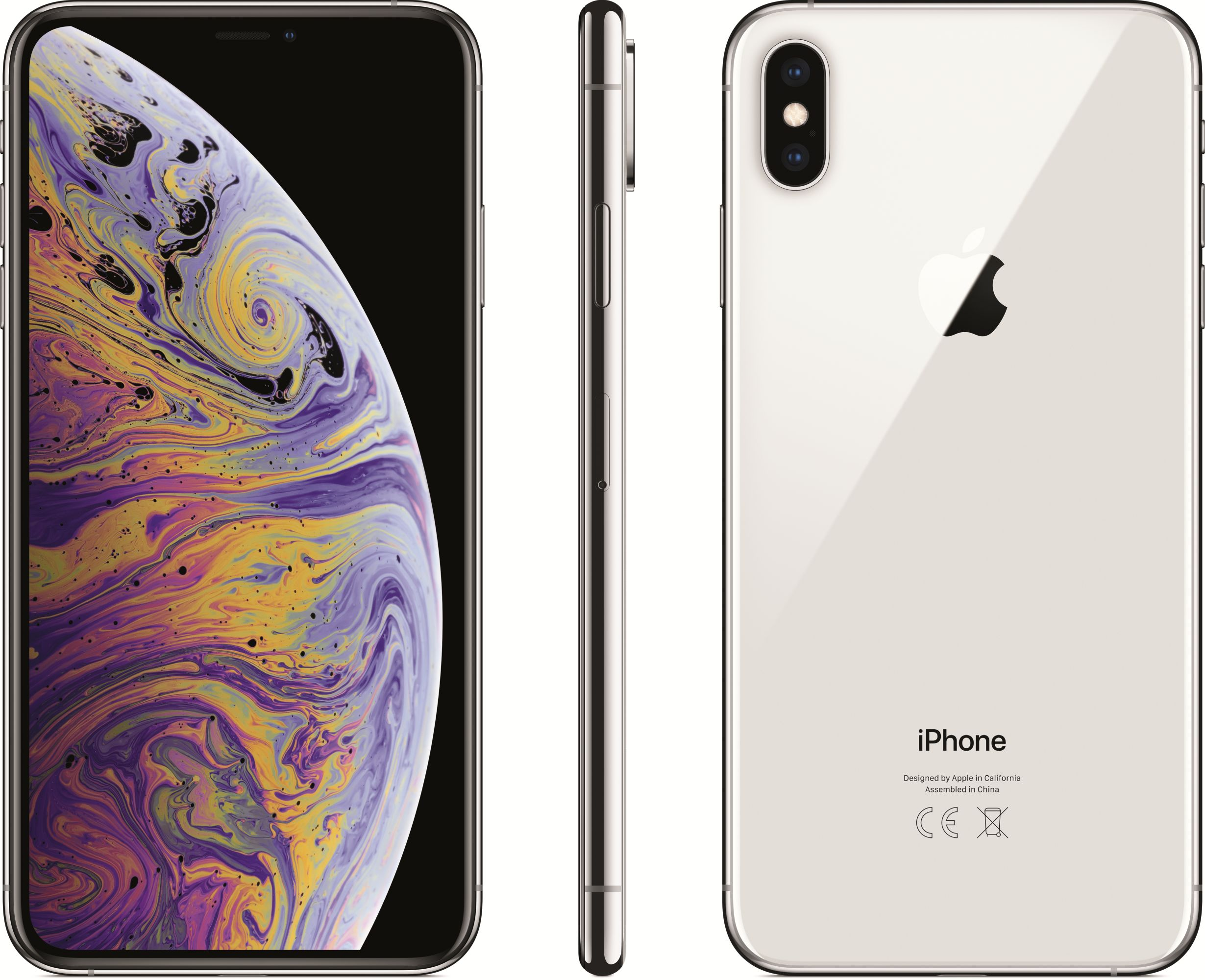 iPhone Xs Max (64GB, Silver)