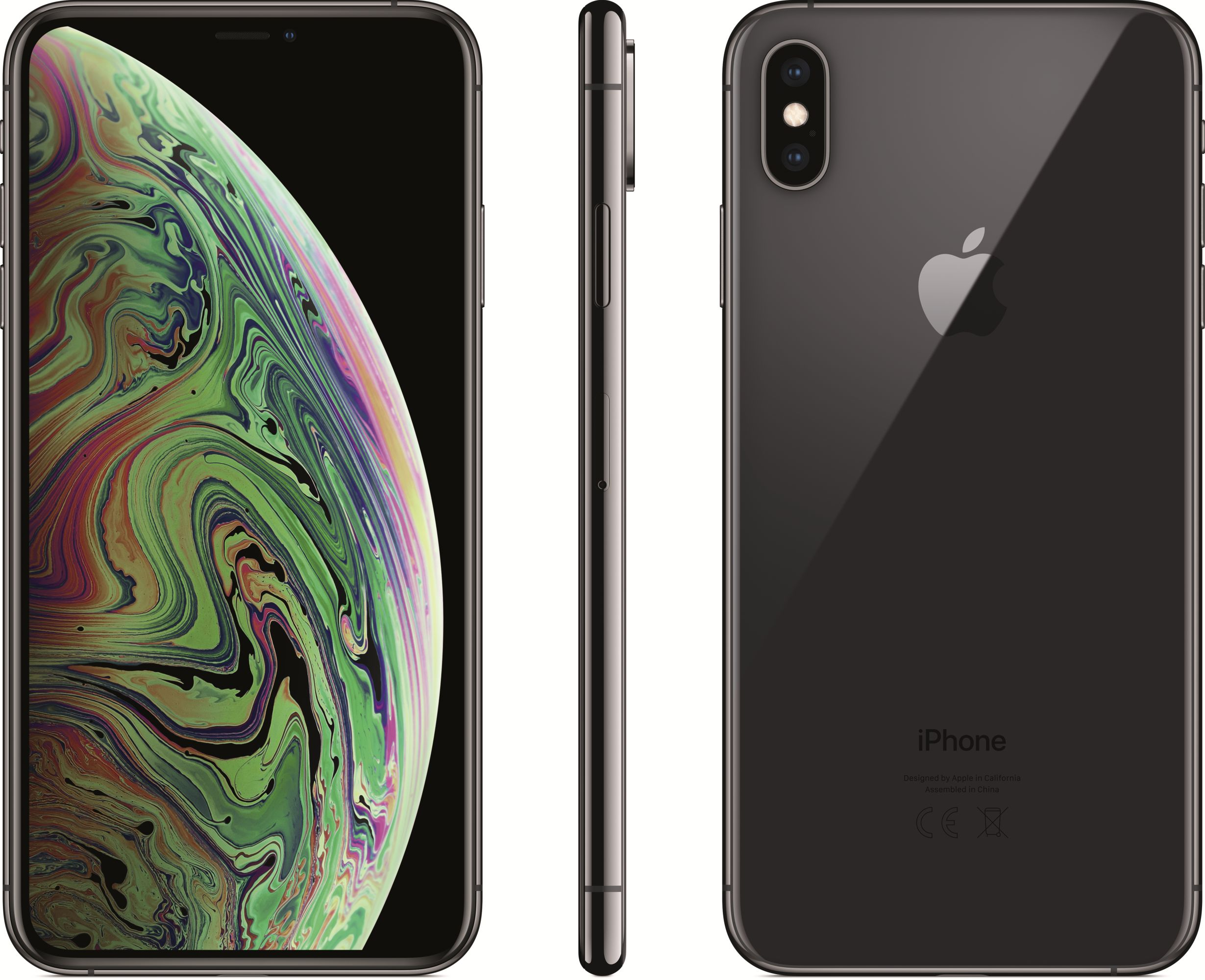 iPhone Xs Max (64GB, Space Gray)