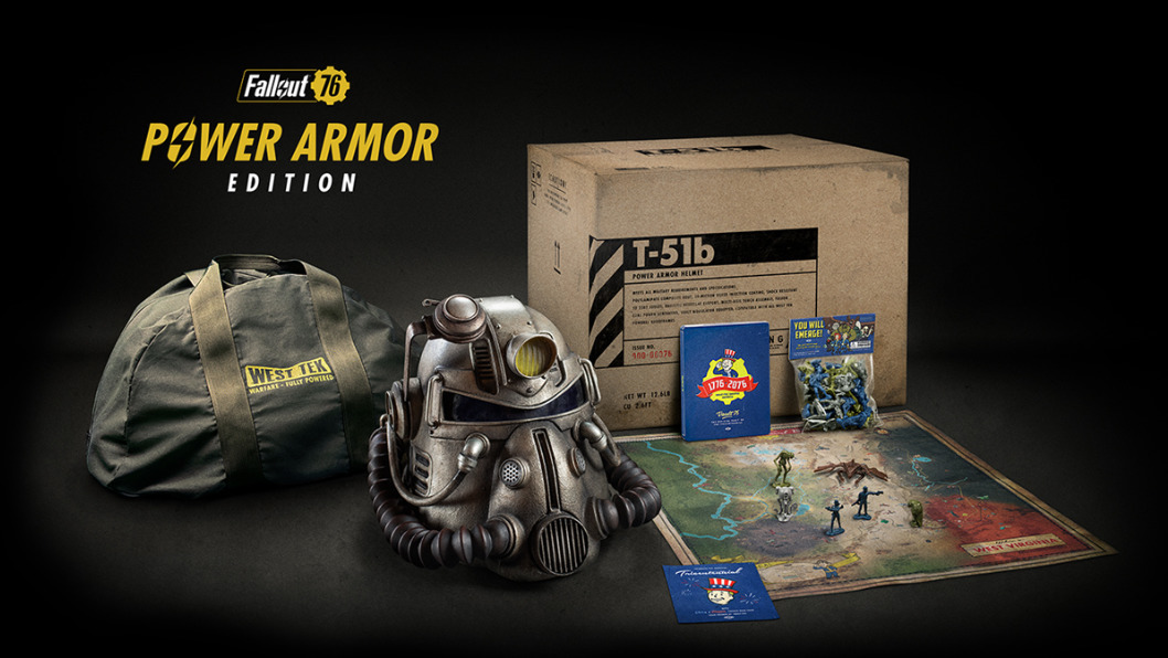 Fallout 76 – Collector's Edition / Power Armor Edition
