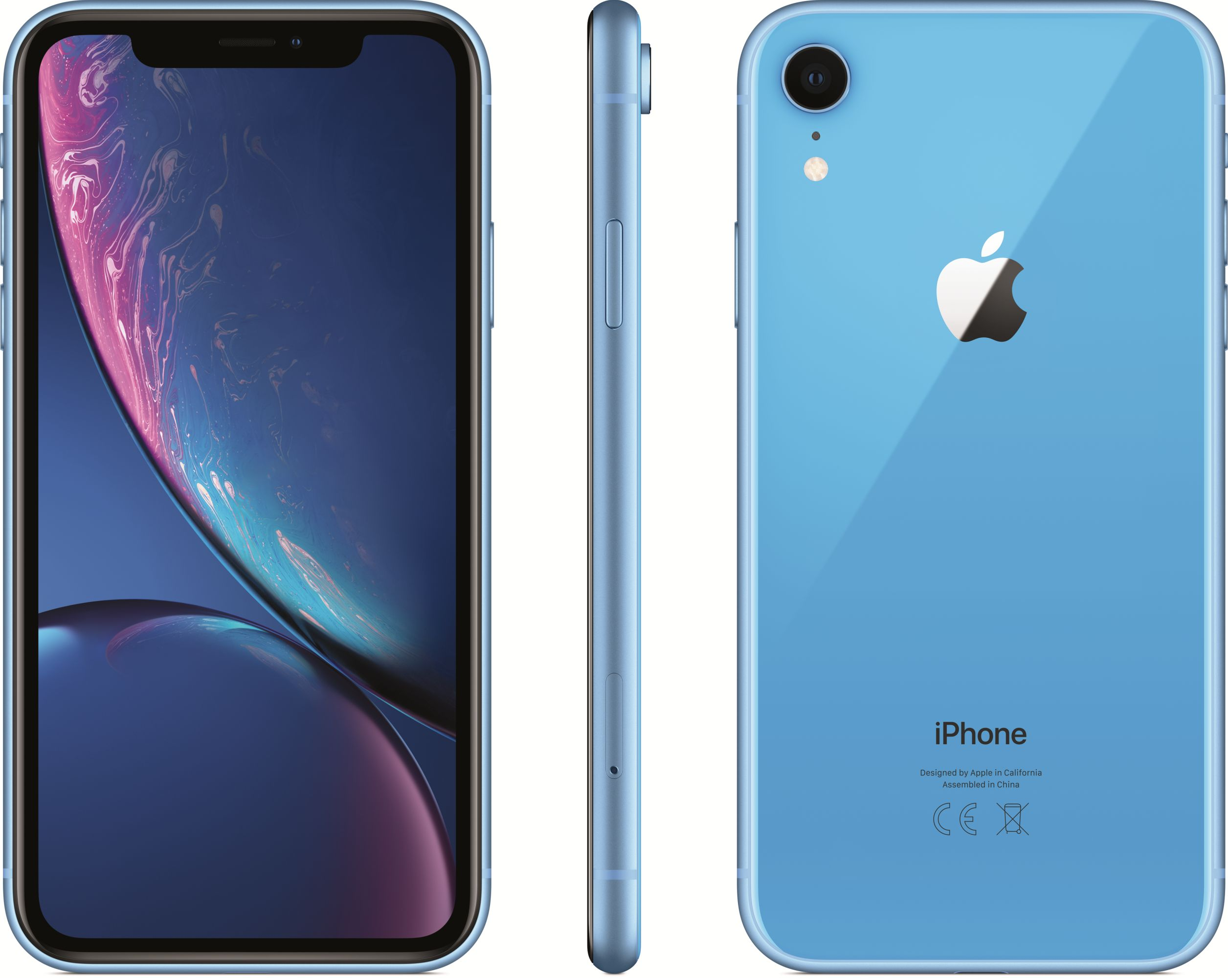iPhone XR (128GB, Blue)