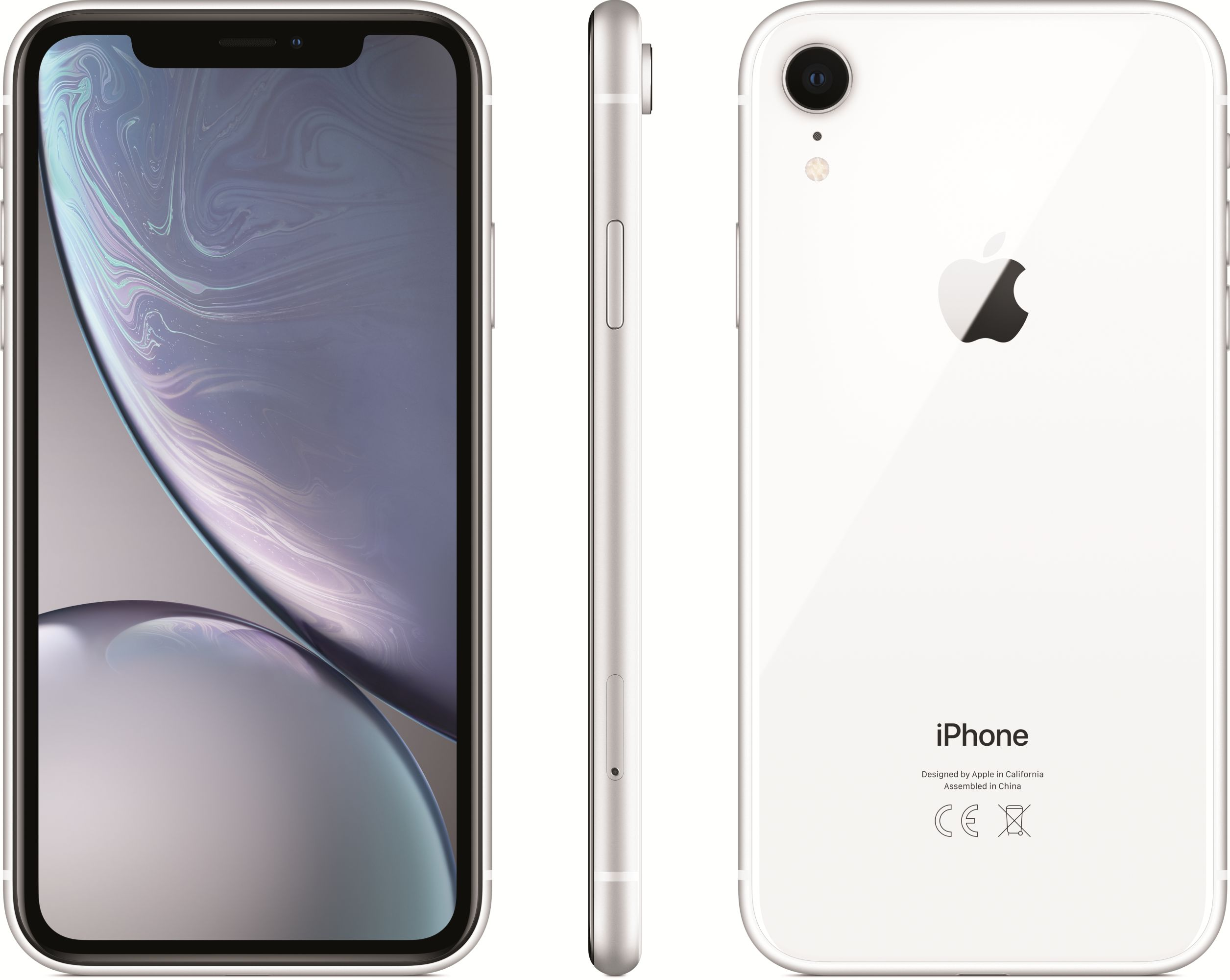 iPhone XR (128GB, White)