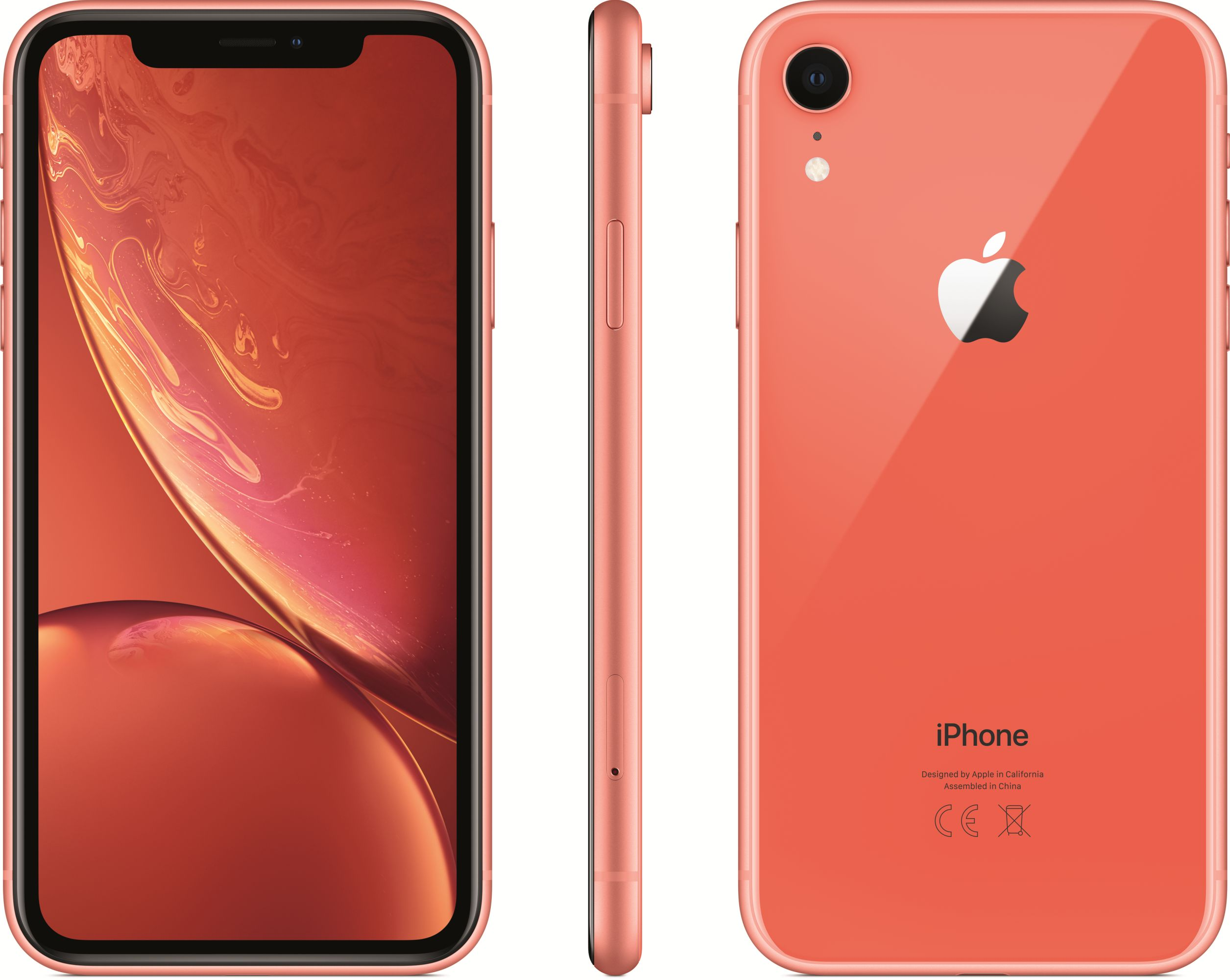 iPhone XR (256GB, Coral)