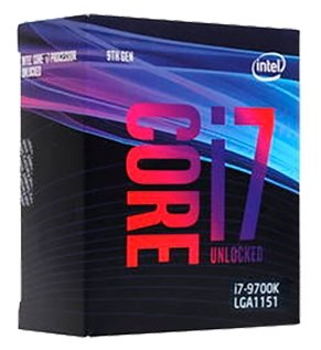 Core i7-9700K Coffee Lake (BOX, 3600MHz, LGA1151 V2, L3 12288Kb)