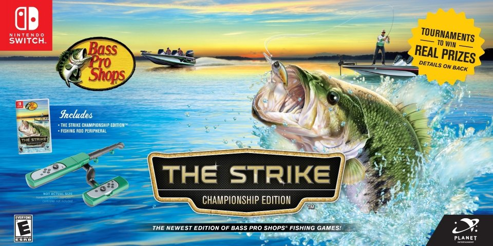 Bass Pro Shops: The Strike – Championship Edition Bundle