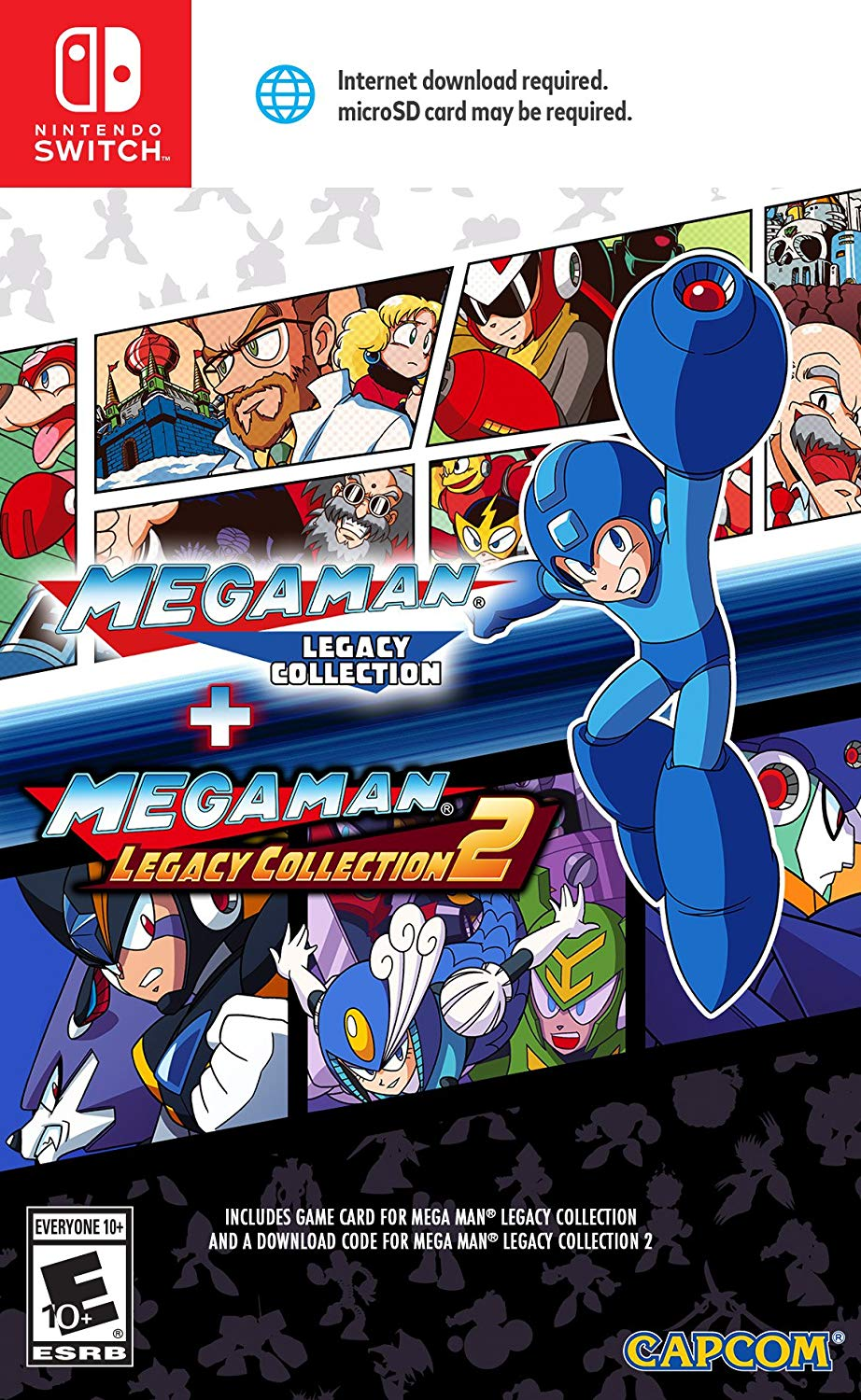 Megaman Legacy Collection 1+2