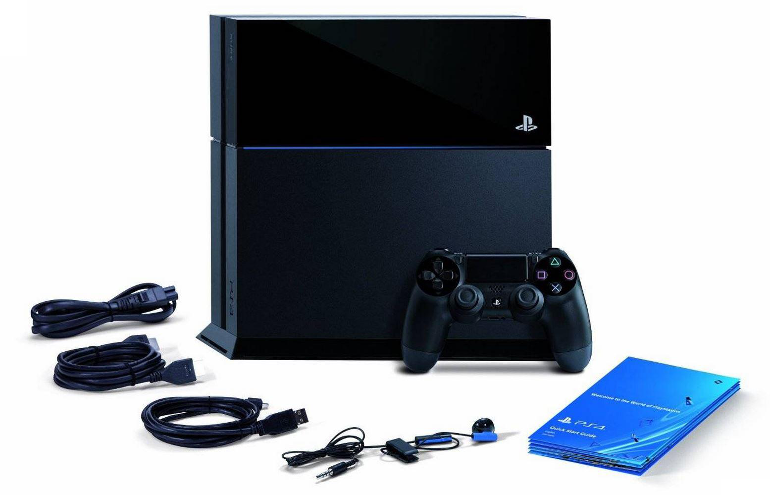 PlayStation 4 (500GB, Jet Black)