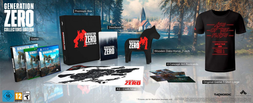 Generation Zero – Collector's Edition