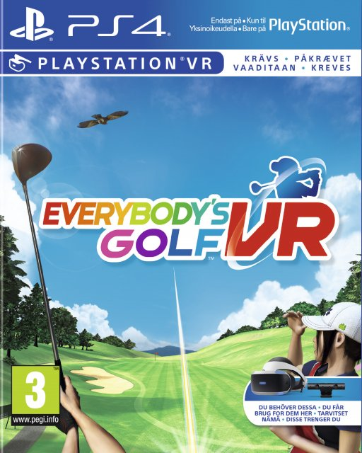 Everybody's Golf (Только для VR)