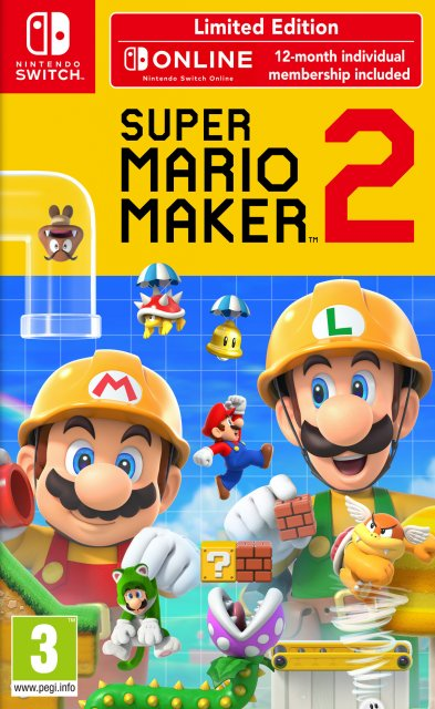 Super Mario Maker 2 – Limited Edition