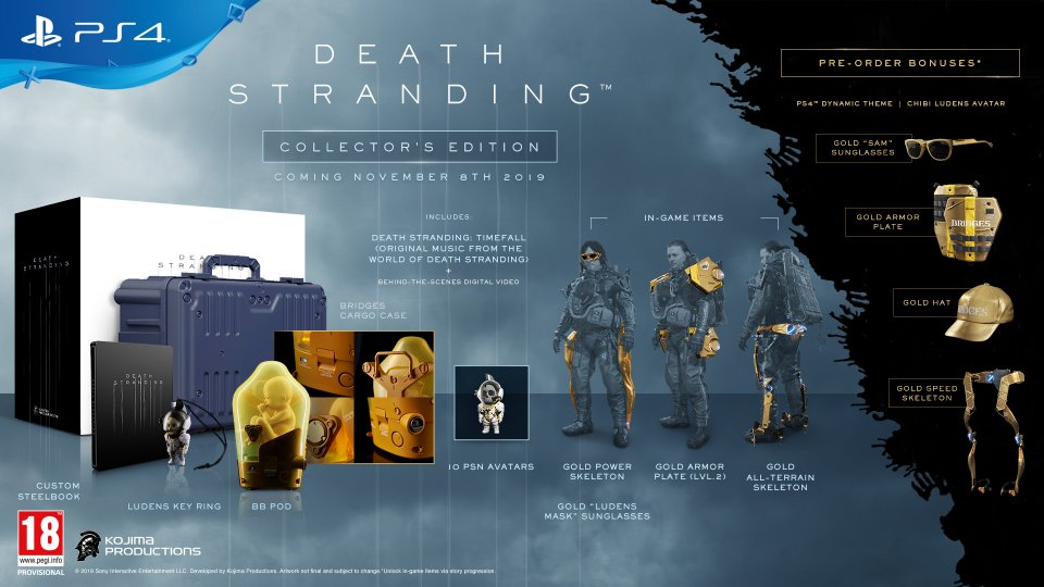 Death Stranding – Collector's Edition