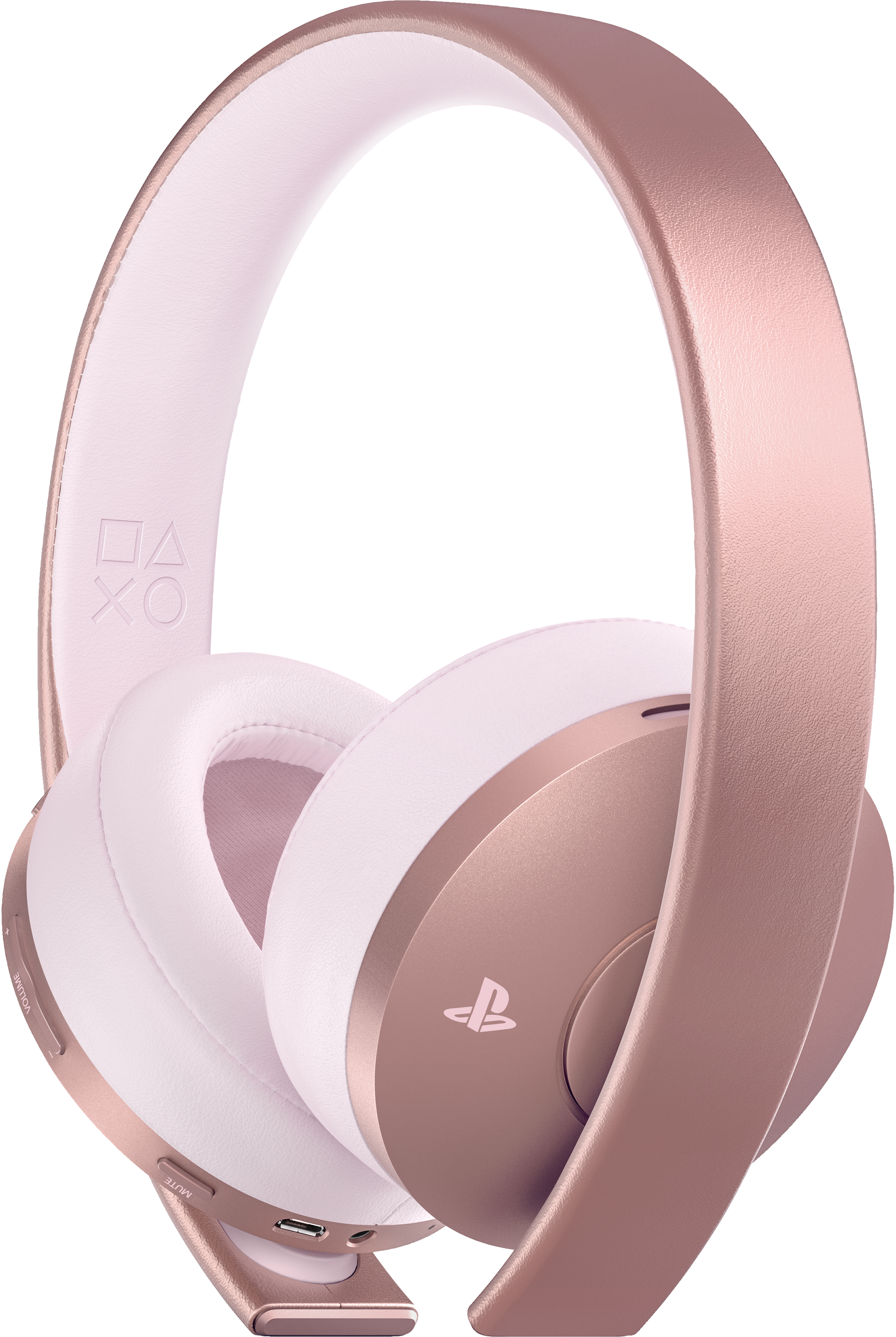 Gold Wireless Stereo Headset v2 (Rose Gold)