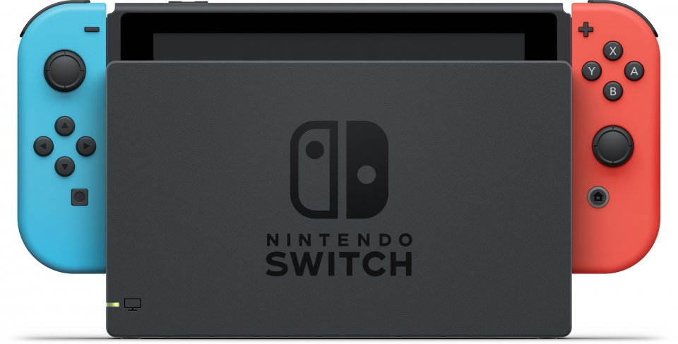 Switch v2 (Neon Blue and Neon Red)