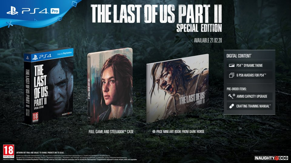 The Last of Us Part II (Одни из нас 2) – Steelbook Edition (ENG)