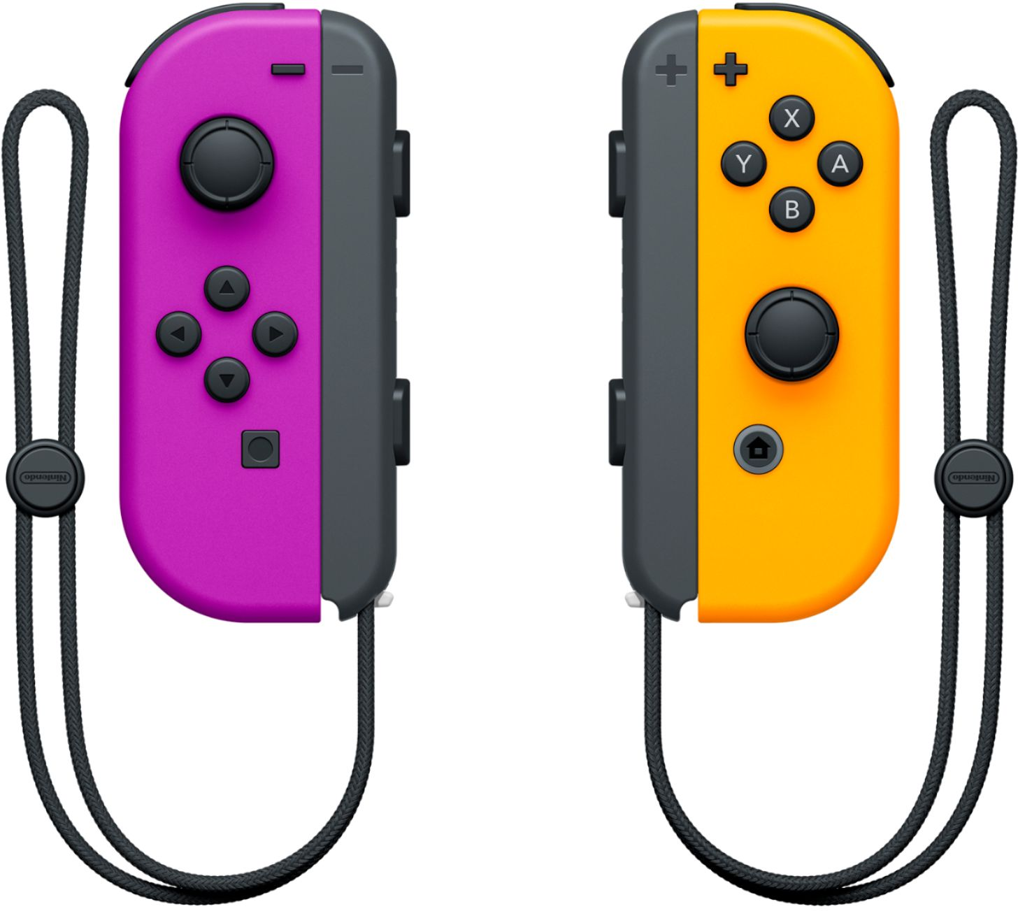 Joy-Con Pair (Purple and Neon Orange)
