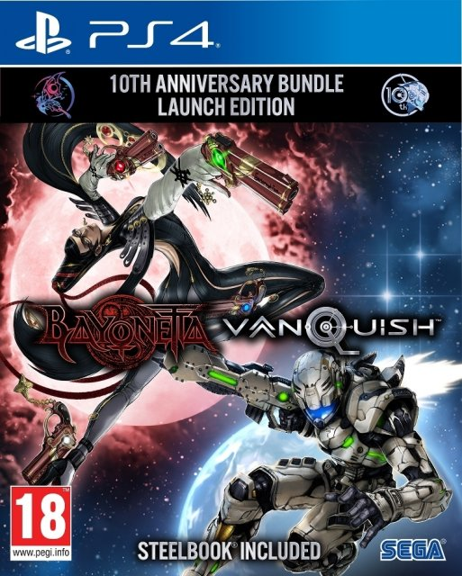 Bayonetta & Vanquish 10th Anniversary Bundle — Steelbook