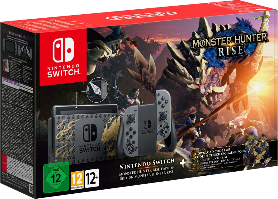 Switch v2 (Monster Hunter Rise)