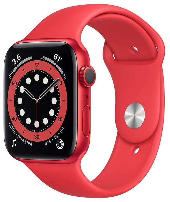 Watch S6 44mm PRODUCT(RED) Aluminum Case with PRODUCT(RED) Sport Band