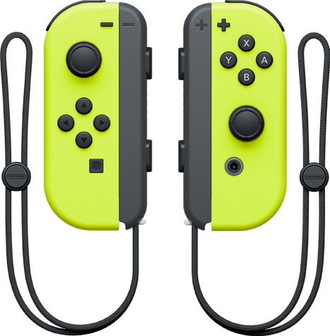 Joy-Con Pair (Neon Yellow)