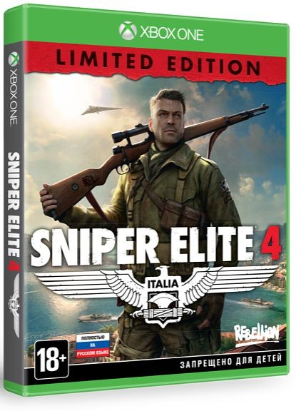 Sniper Elite 4 – Limited Edition