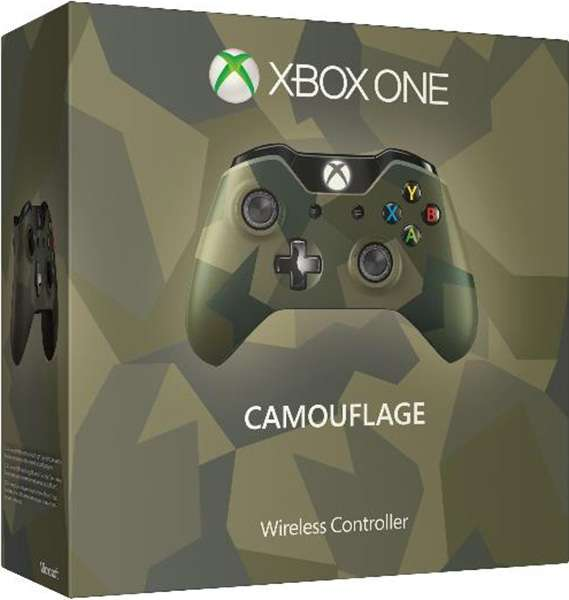 Xbox Wireless Controller v2 (Camouflage)