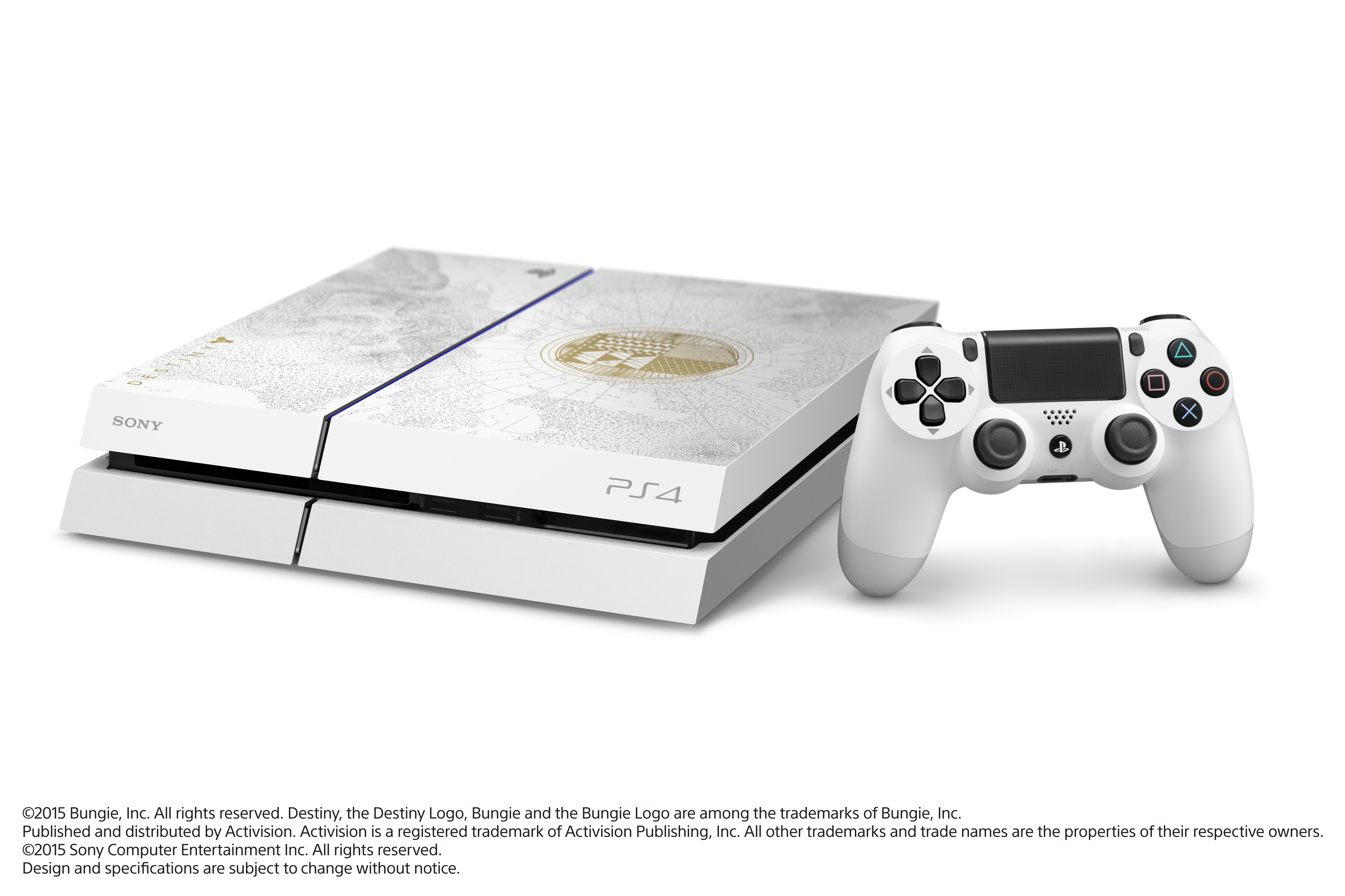 PlayStation 4 (500GB, Limited Edition) + Destiny: The Taken King