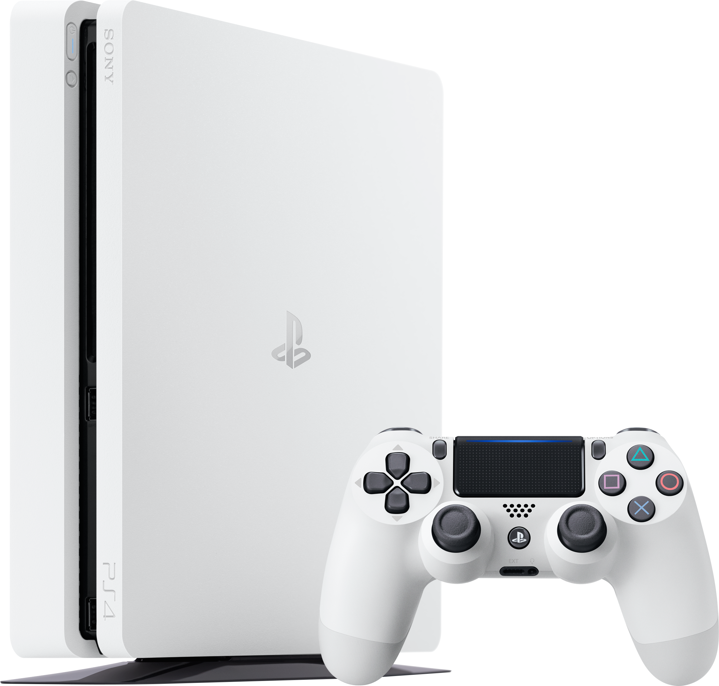 PlayStation 4 Slim (1TB, Glacier White)