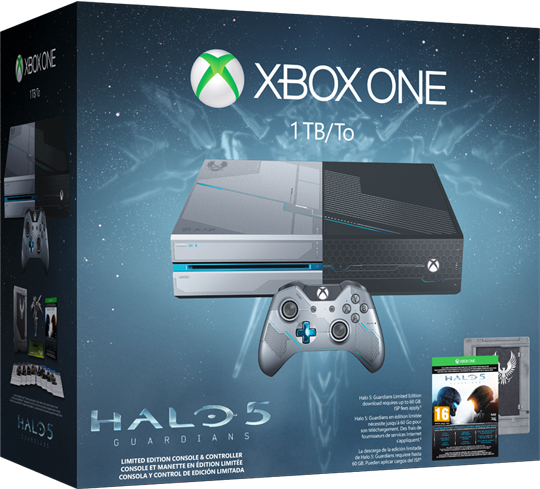 Xbox One 1TB Limited Edition Halo 5: Guardians