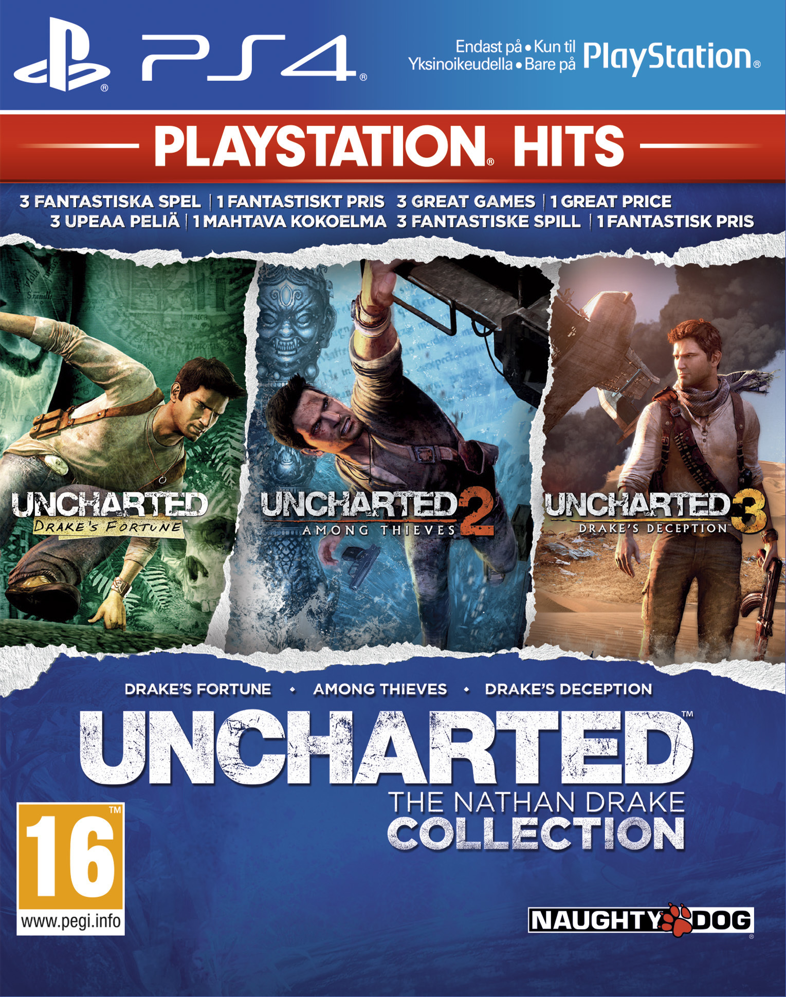 Uncharted: The Nathan Drake Collection (Натан Дрейк Kоллекция) (ENG)